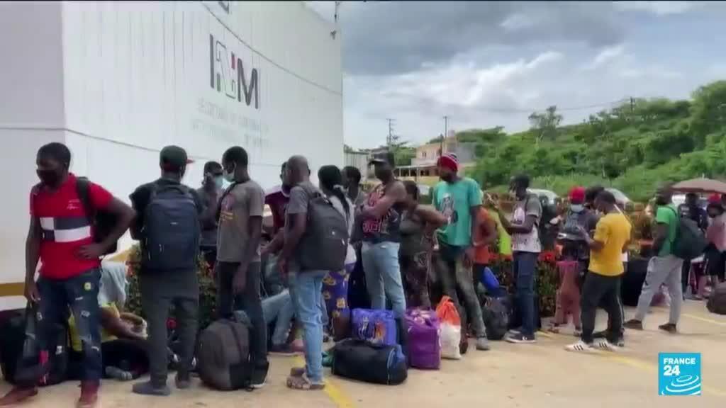 2021-09-23 12:11 Amérique centrale : près de 19 000 migrants bloqués près de la frontière entre la Colombie et le Panama