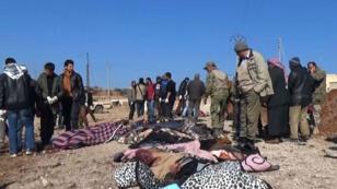 Le kamikaze a tué au moins 51 personnes — 34 civils et 17 rebelles — près d'Al-Bab, vendredi 24 février 2017.
