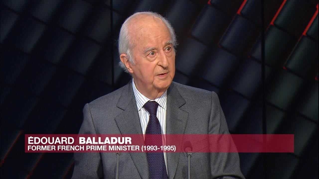 Former French Prime Minister Edouard Balladur: 'France does not have to apologize for genocide in Rwanda'