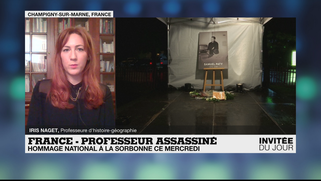 """Enseignant assassiné: """"Nous sommes passés de la sidération à la détermination"""""""