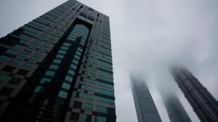 Le bâtiment panaméen qui abrite le cabinet d'avocats Mossack Fonseca.