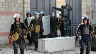 Les forces de sécurité du Kirghizstan ont mené un raid visant à arrêter l'ex-président Almazbek Atambayev, près de Bichkek, le 8 août 2019.