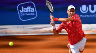 Novak Djokovic will be back in action in Rome after being disqualified from the US Open