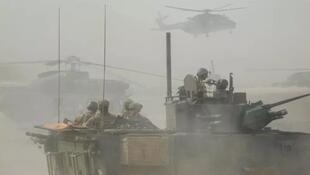 جنود فرنسيون في عملية بارخان في منطقة غورما في مالي