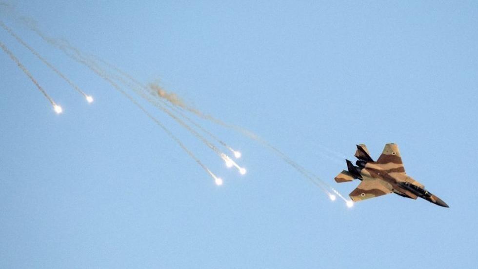 طائرة حربية إسرائيلية.