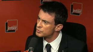 Manuel Valls a décrit l'ampleur du terrorisme en France jeudi  23 avril sur les ondes de France Inter.