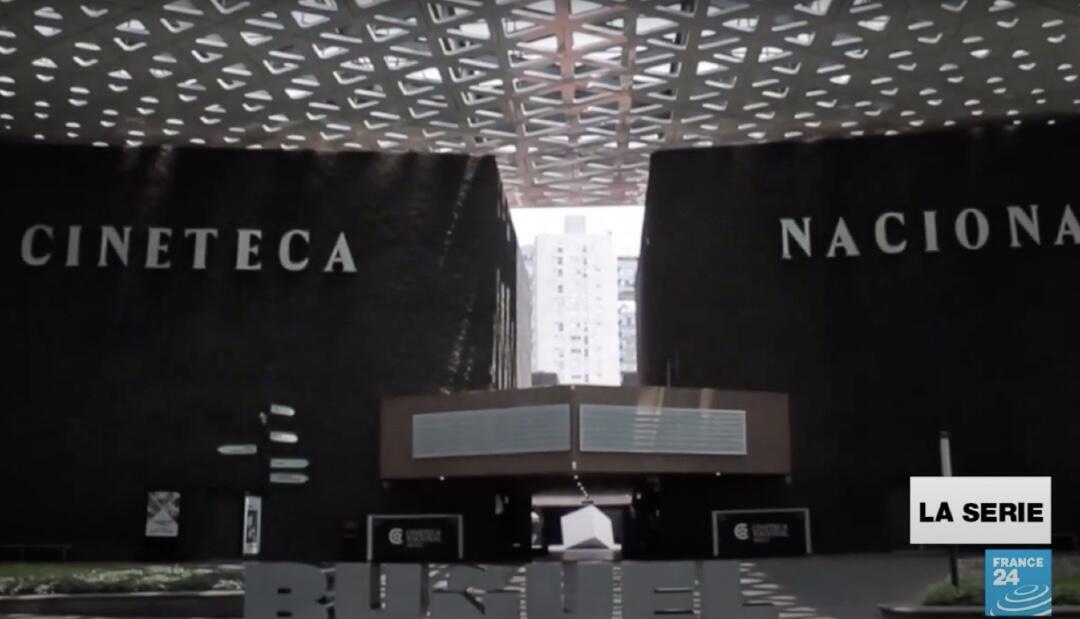 Vista de la Cinemateca Nacional, uno de los emblemas de la industria del cine en México.