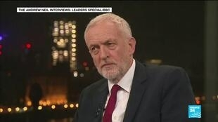 2019-11-27 11:10 Labour leader Jeremy Corbyn grilled over party's record on anti-semitism ahead of elections