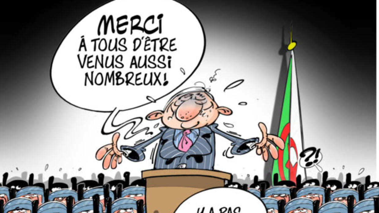 In Algeria Political Cartoonists Turn To Social Media To Protest