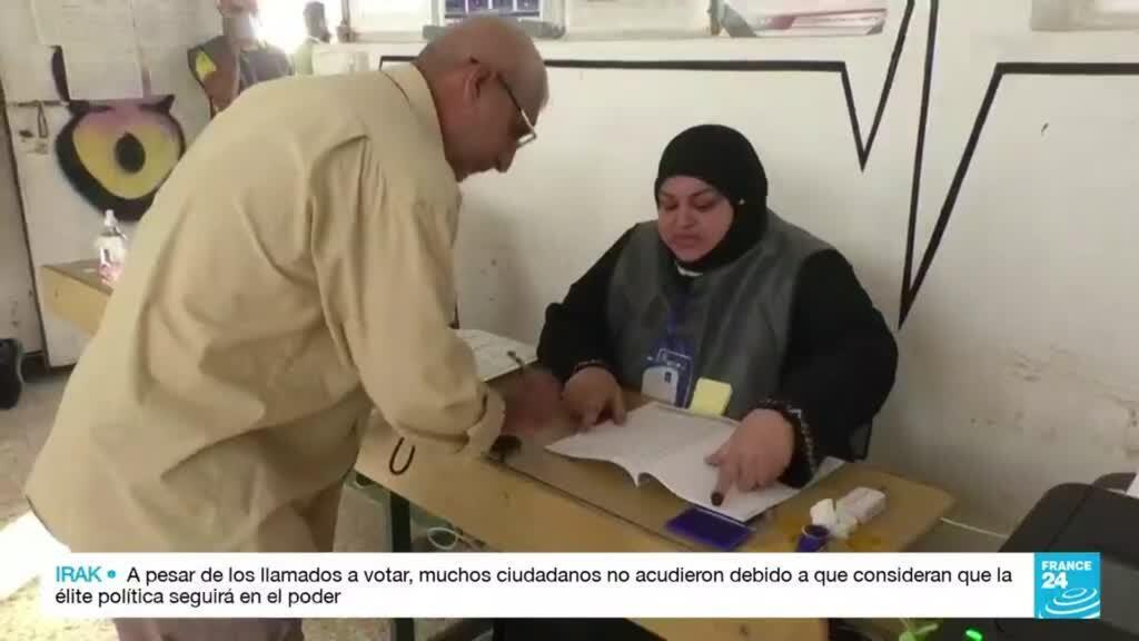 2021-10-11 01:31 Elecciones en Irak marcadas por una de las participaciones más bajas de la historia