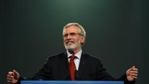 Gerry Adams renuncia a presentarse como candidato para un nuevo mandato al frente del partido nacionalista irlandés Sinn Fein.