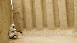 Vue de la cour d'une mosquée de Mopti (illustration/archives)