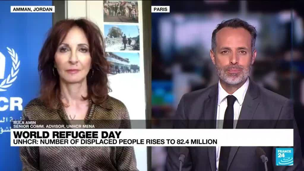 2021-06-20 10:07 World refugee day: UNHCR number of displaced people rises to 82.4 million