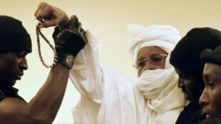 Hissène Habré, le 20 juillet, au tribunal, à Dakar.