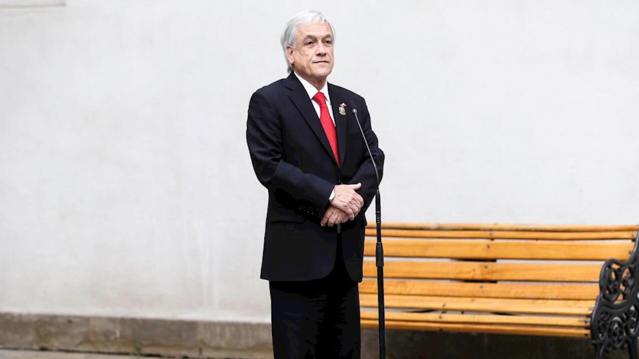 En la imagen, el presidente de Chile, Sebastián Piñera, el 26 de mayo de 2020.