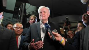 """Le ministre allemand de l'Intérieur Horst Seehofer a dévoilé son """"masterplan"""" pour l'immigration dimanche 1er juillet"""