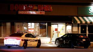 Los hechos ocurrieron en el restaurante Bombay Bhel de la ciudad de Missisauga, a las afueras de Toronto. 25 de mayo de 2018.
