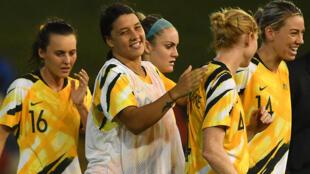 Les joueuses de l'équipe australienne disputeront le prochain Mondial féminin de football à domicile.