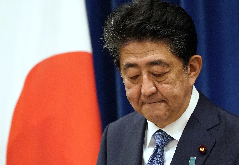 El primer ministro, Shinzo Abe, anunció su renuncia al cargo el 28 de agosto de 2020.