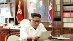 Kim this week described a recent letter from Trump as 'excellent' while Trump has described his missives from Kim as 'beautiful'