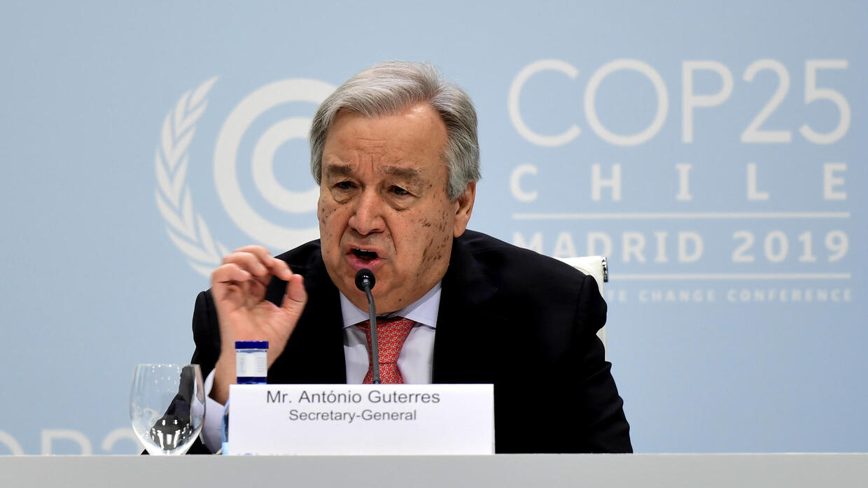 UN chief says humanity's 'war against nature' must stop - FRANCE 24