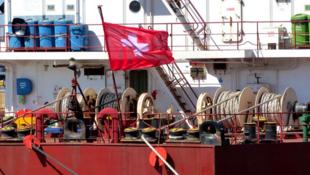 Capture d'écran du site de l'armateur Massoel Shipping.