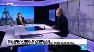 2020-03-09 14:47 Coronavirus: Oil plunge over global fight for crude production