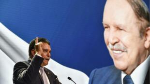 Le dirigeant du FLN, Mouad Bouchareb, a annoncé le 9 février que le président sortant serait le candidat du parti à la présidentielle.