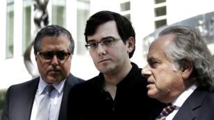 Martin Shkreli à la sortie du tribunal le 4 août dernier, à Brooklyn.