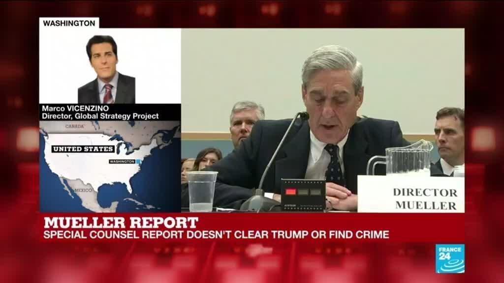 Robert Mueller report on Russian probe - Marco Vicenzino's