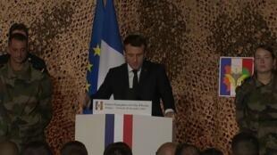 Macron en côte d'ivoire