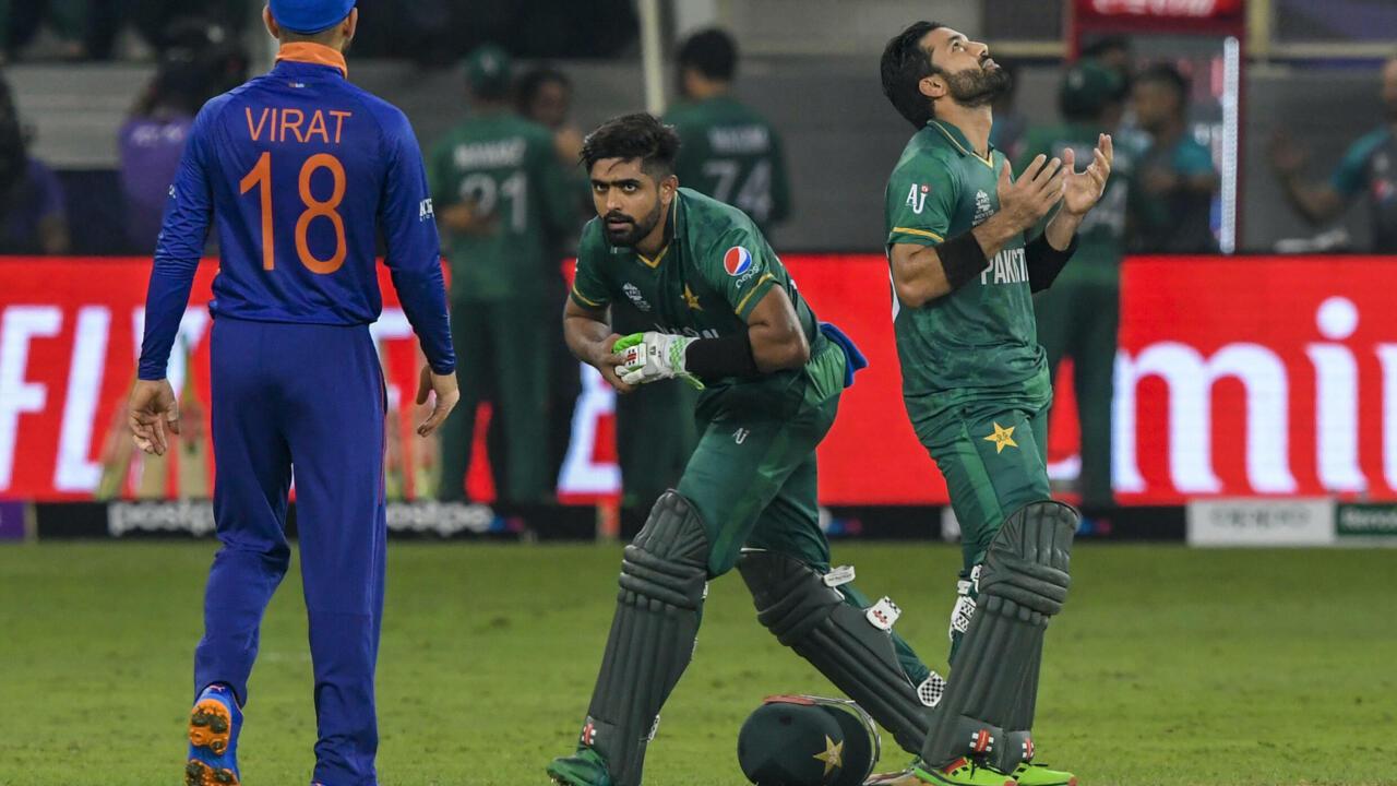 Babar, Rizwan star as Pakistan break India jinx with rout