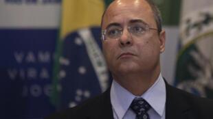Wilson Witzel, gobernador de Rio de Janeiro, aquí en septiembre de 2019,  fue destituido por la justicia por al menos seis meses