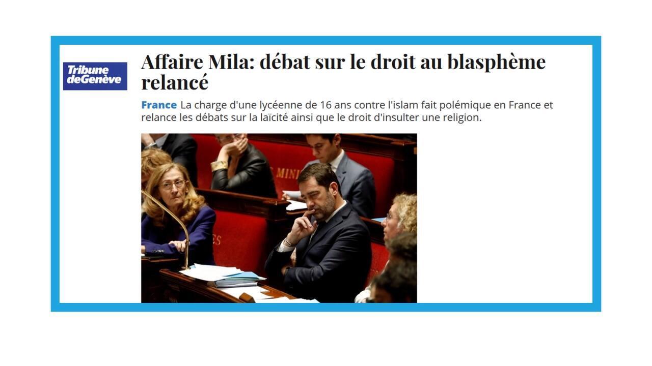 """L'affaire Mila remet en lumière le """"droit au blasphème"""" en France"""