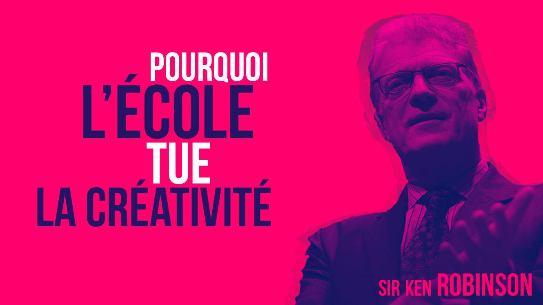 Sir Ken Robinson est un expert en éducation mondialement connu.