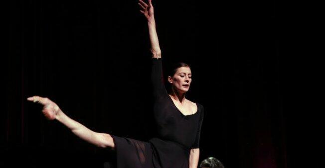 La danseuse étoile Marie-Agnès Gillot, le 23 novembre 2015.