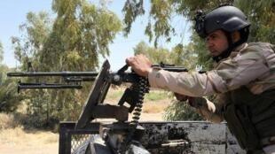 جندي عراقي متطوع في ديالى