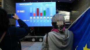الانتخابات الأوروبية. 26 مايو/أيار 2019.