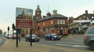 La ville de Rochester and Strood, dans le sud-est de l'Angleterre.