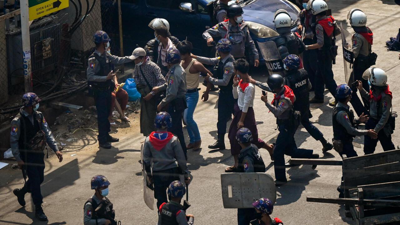 More dead in Myanmar protests as demonstrators, UN envoy defy junta
