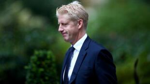 Jo Johnson, ministro de Universidades y ciencia y hermanos del primer ministro, Boris Johnson, que presentó su renuncia.