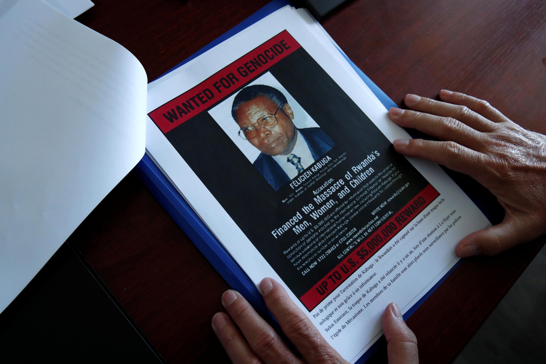 Rwanda - Kabuga wanted poster