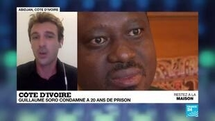 2020-04-28 18:09 Côte d'Ivoire : Soro condamné à 20 ans de prison