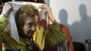 Marta Vásquez fue una de las fundadoras de la organización de derechos humanos argentina Madres de Plaza de Mayo Linea Fundadora (Foto de archivo - 18 de noviembre de 2015).
