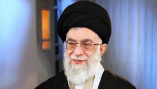 L'Ayatollah Ali Khamenei, Guide suprême.