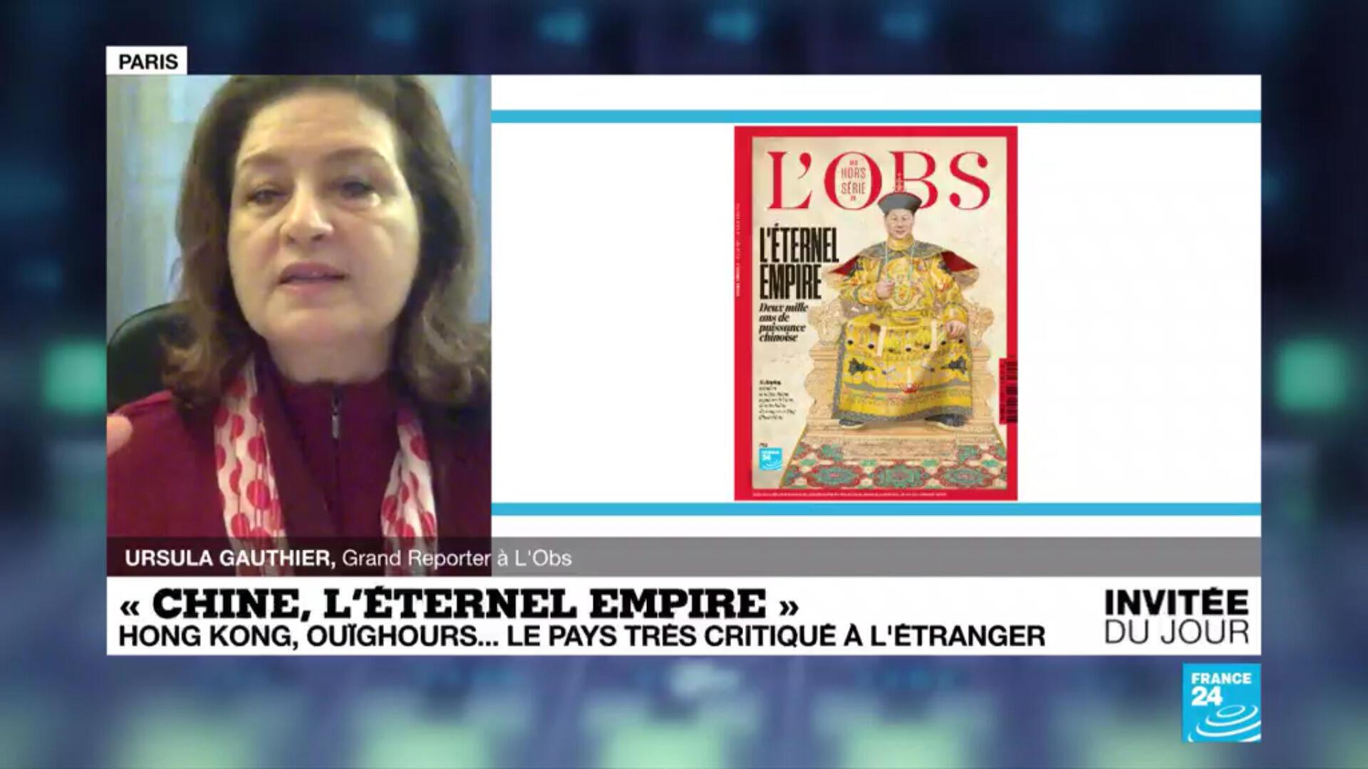 La journaliste Ursula Gauthier, du magazine L'Obs
