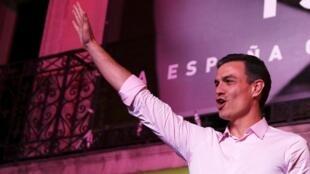 Pedro Sánchez se impuso con el PSOE en las elecciones de este 28 de abril pero no obtuvo la mayoría de escaños necesaria para goberno solo.