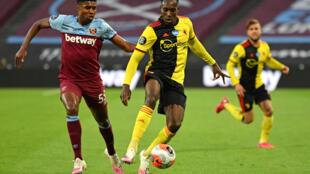 Danny Welbeck (C) has joined Brighton