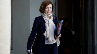 French Defence Minister Florence Parly leaves the Elysee Palace following a cabinet meeting in Paris, France, October 21, 2019.