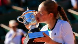 Jelena Ostapenko a créé la sensation en remportant l'édition 2017 de Roland-Garros.